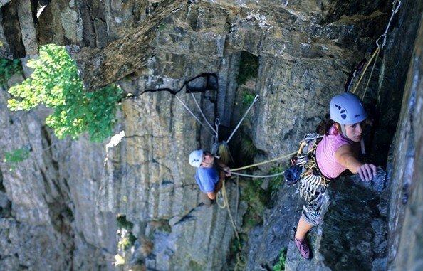 Single Pitch To Multi-Pitch Climbing
