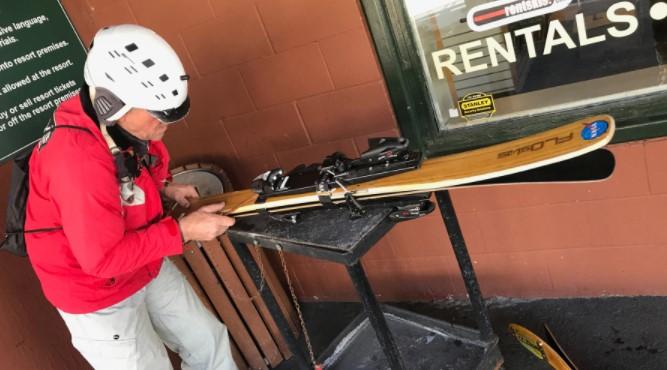 Adjust the Forward Pressure Setting Rossignol Bindings