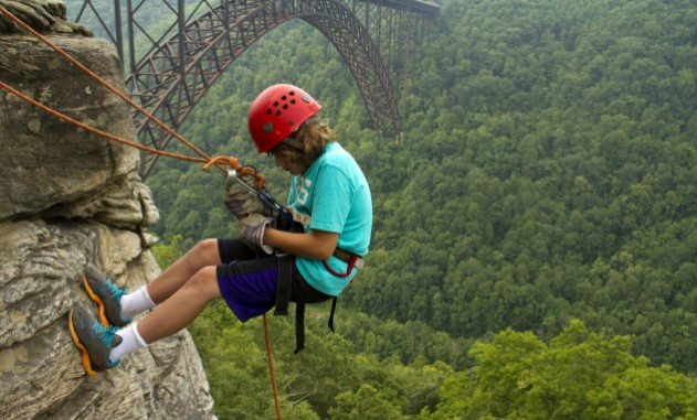 Climbing and Rappelling Harness