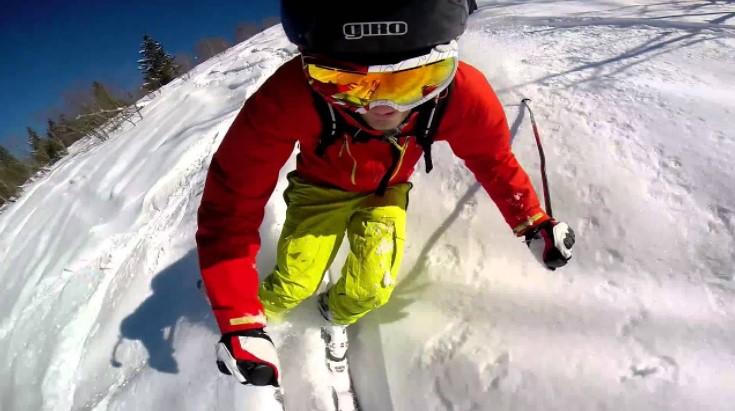 Mounting GoPro on a Ski Helmet