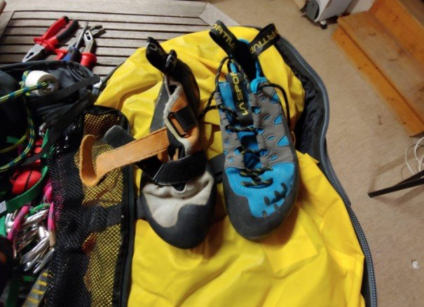 Rock Climbing Shoes cleaning