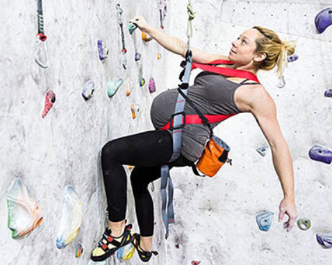 Safety Guidelines for Indoor Rock Climbers While Pregnant