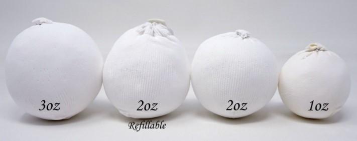 Sizes Of Chalk Balls