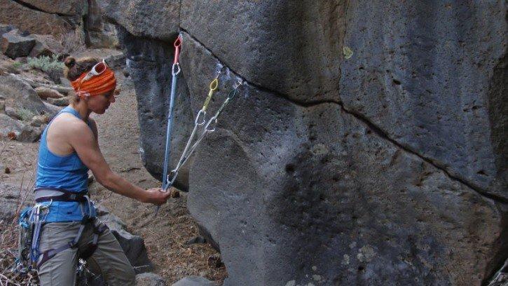 Trad Climbing