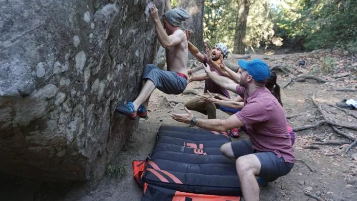 Types of Free Climbing