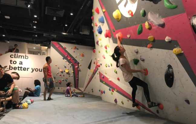 Types of bouldering