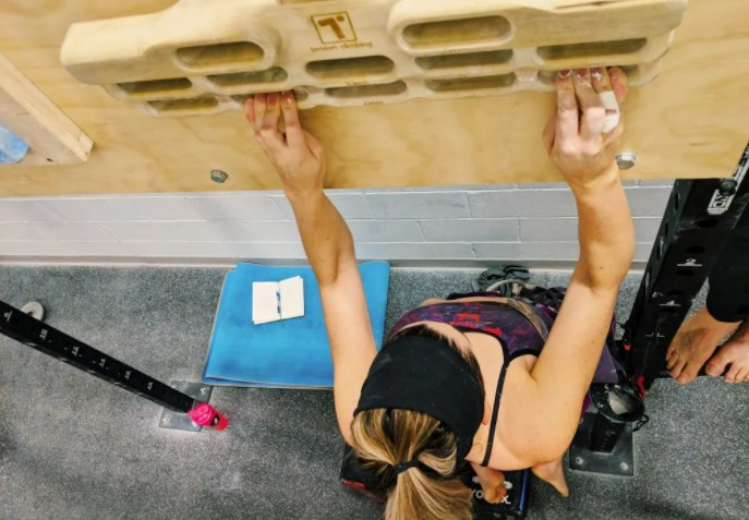 Why use a hangboard for training