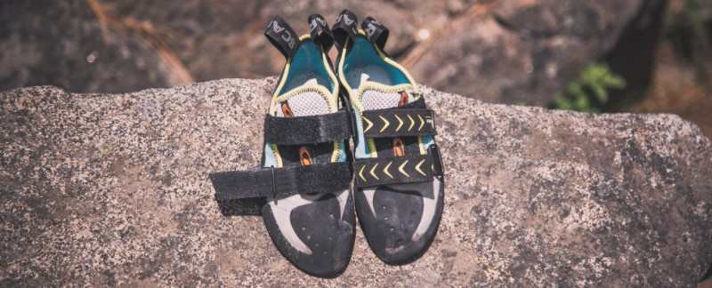 climbing shoes are too big