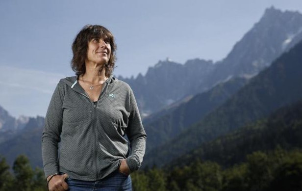 Catherine Destivelle climber