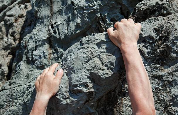 Closed Grip climbing