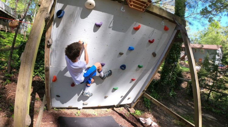 Guide to Building a Climbing Wall for Kids