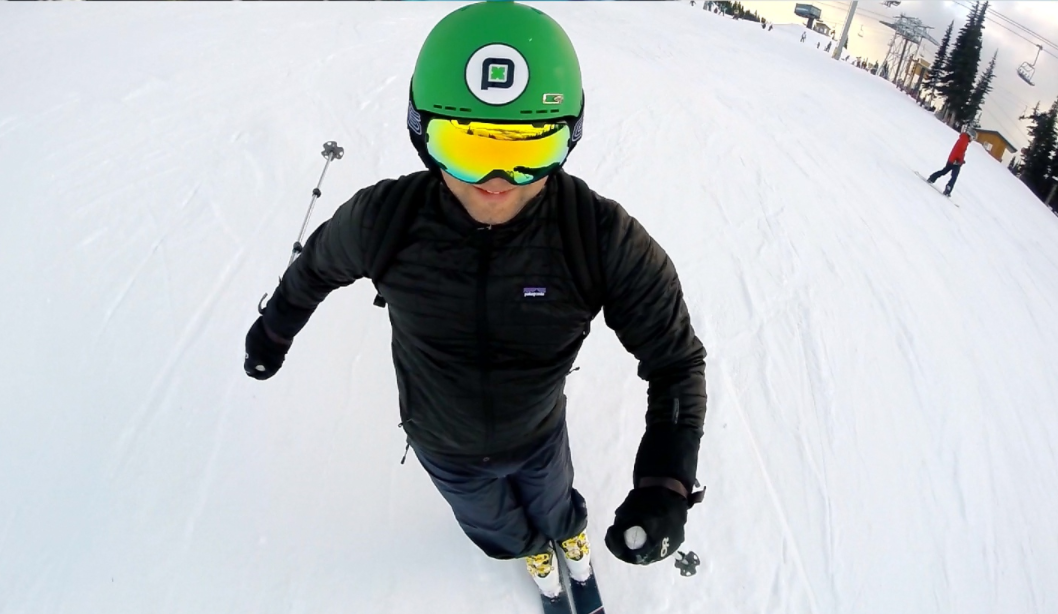 How to Mount a GoPro to a Ski Helmet With an Adhesive Mount?