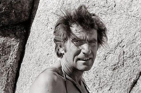Warren Harding climber